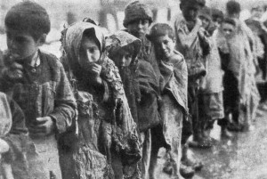Deported Armenian Children 1915